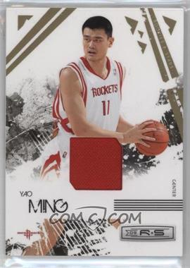 2009-10 Panini Rookies & Stars Materials [Memorabilia] #31 - Yao Ming /250