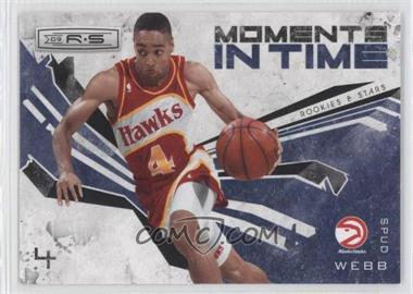 2009-10 Panini Rookies & Stars Moments in Time Black #10 - Spud Webb /100
