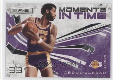 2009-10 Panini Rookies & Stars Moments in Time Black #12 - Kareem Abdul-Jabbar /100