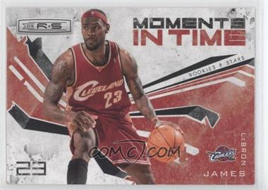 2009-10 Panini Rookies & Stars Moments in Time Black #14 - Lebron James /100