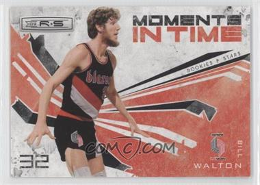 2009-10 Panini Rookies & Stars Moments in Time Black #7 - Bill Walton /100