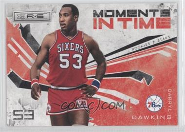 2009-10 Panini Rookies & Stars Moments in Time Black #8 - Darryl Dawkins /100