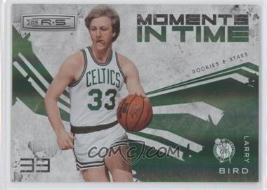 2009-10 Panini Rookies & Stars Moments in Time Holofoil #11 - Larry Bird /250