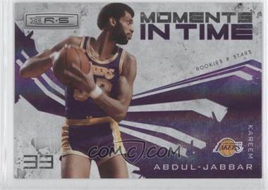 2009-10 Panini Rookies & Stars Moments in Time Holofoil #12 - Kareem Abdul-Jabbar /250
