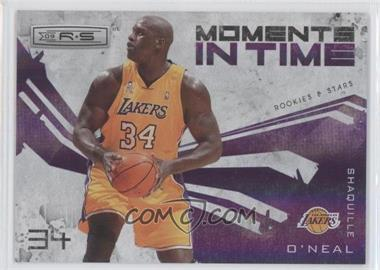 2009-10 Panini Rookies & Stars Moments in Time Holofoil #13 - Shaquille O'Neal /250