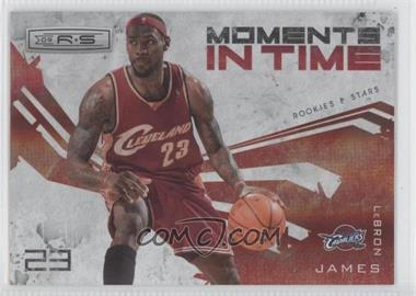 2009-10 Panini Rookies & Stars Moments in Time Holofoil #14 - Lebron James /250