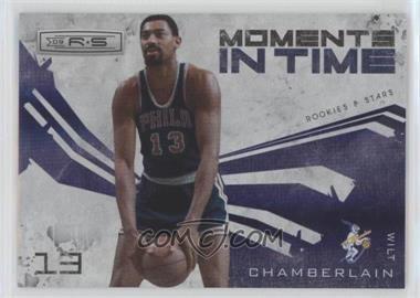 2009-10 Panini Rookies & Stars Moments in Time Holofoil #2 - Wilt Chamberlain /250