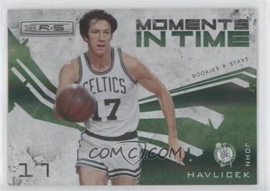 2009-10 Panini Rookies & Stars Moments in Time Holofoil #3 - John Havlicek /250