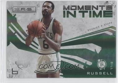 2009-10 Panini Rookies & Stars Moments in Time Holofoil #4 - Bill Russell /250