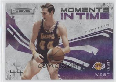 2009-10 Panini Rookies & Stars Moments in Time Holofoil #6 - Jerry West /250