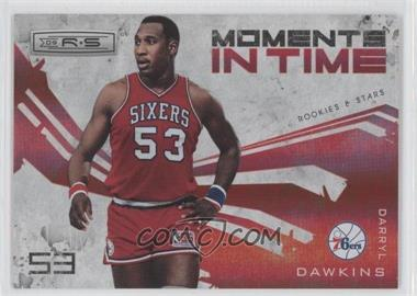 2009-10 Panini Rookies & Stars Moments in Time Holofoil #8 - Darryl Dawkins /250