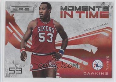 2009-10 Panini Rookies & Stars Moments in Time Holofoil #8 - Darryl Dawkins /250