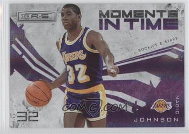 2009-10 Panini Rookies & Stars Moments in Time Holofoil #9 - Magic Johnson /250