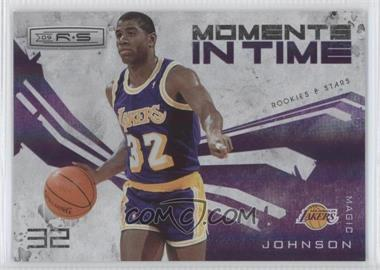 2009-10 Panini Rookies & Stars Moments in Time Holofoil #9 - Magic Johnson /250