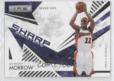 2009-10 Panini Rookies & Stars Sharp Shooters Black #1 - Anthony Morrow /100
