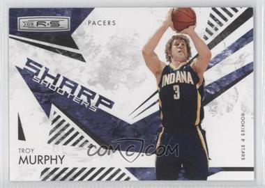 2009-10 Panini Rookies & Stars Sharp Shooters Black #10 - Troy Murphy /100
