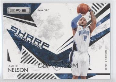 2009-10 Panini Rookies & Stars Sharp Shooters Black #3 - Jameer Nelson /100