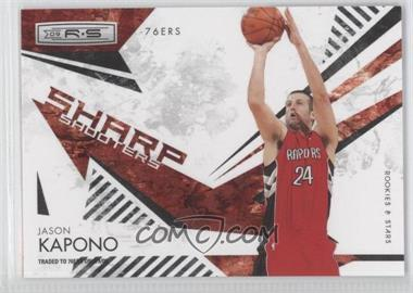 2009-10 Panini Rookies & Stars Sharp Shooters Black #4 - Jason Kapono /100