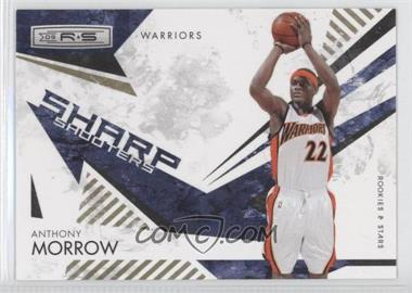 2009-10 Panini Rookies & Stars Sharp Shooters Gold #1 - Anthony Morrow /500