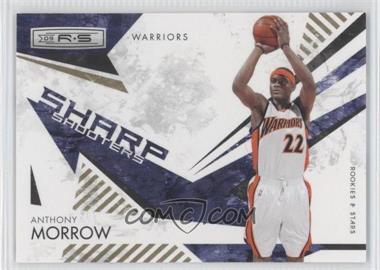 2009-10 Panini Rookies & Stars Sharp Shooters Gold #1 - Anthony Morrow /500