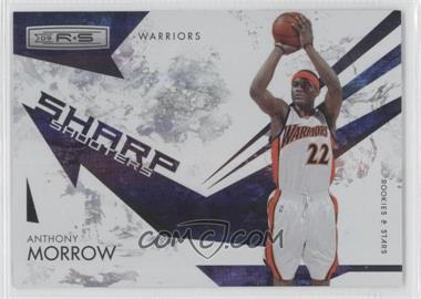 2009-10 Panini Rookies & Stars Sharp Shooters Holofoil #1 - Anthony Morrow /250