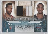 James Johnson, Jeff Teague /50