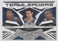Earl Watson, Kevin Durant, Nick Collison /100