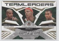 Michael Redd, Ramon Sessions, Charlie Villanueva /500