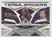 Amare Stoudemire, Shaquille O'Neal, Steve Nash /500