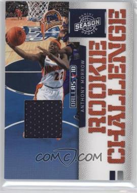 2009-10 Panini Season Update - Rookie Challenge - Materials [Memorabilia] #4 - Anthony Morrow