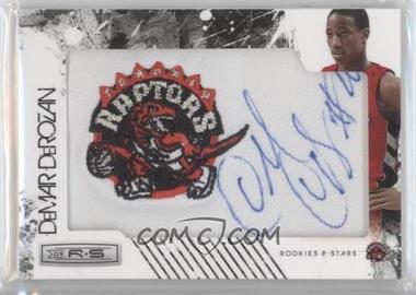2009-10 Panini Season Update - Rookies & Stars Update Rookie NBA Team Patch Signatures - Gold #166 - DeMar DeRozan /25
