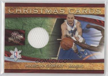 2009-10 Panini Season Update Christmas Cards Materials #28 - Marcin Gortat /499