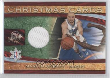 2009-10 Panini Season Update Christmas Cards Materials #28 - Marcin Gortat /499