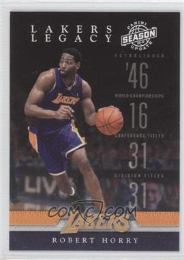 2009-10 Panini Season Update Lakers Legacy #5 - Robert Horry