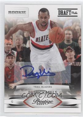 2009-10 Panini Season Update Prestige Update Rookies Draft Picks Rights Signatures [Autographed] #252 - Patrick Mills /699