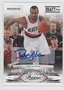 2009-10 Panini Season Update Prestige Update Rookies Draft Picks Rights Signatures [Autographed] #252 - Patrick Mills /699
