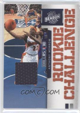 2009-10 Panini Season Update Rookie Challenge Materials [Memorabilia] #4 - Anthony Morrow
