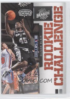 2009-10 Panini Season Update Rookie Challenge #7 - DeJuan Blair