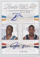 Daequan Cook, Jeff Teague /99