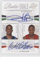 Rodrigue Beaubois, DeMar DeRozan /99