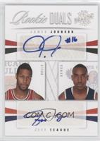 James Johnson, Jeff Teague /99