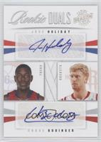 Chase Budinger, Jrue Holiday /99