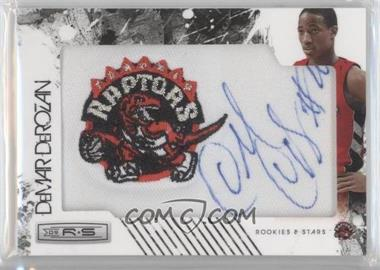 2009-10 Panini Season Update Rookies & Stars Update Rookie NBA Team Patch Signatures Gold #166 - DeMar DeRozan /25