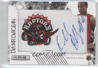 2009-10 Panini Season Update Rookies & Stars Update Rookie NBA Team Patch Signatures #166 - DeMar DeRozan /499