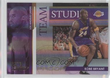 2009-10 Panini Studio - Team Studio - Proofs #1 - Pau Gasol, Kobe Bryant /199