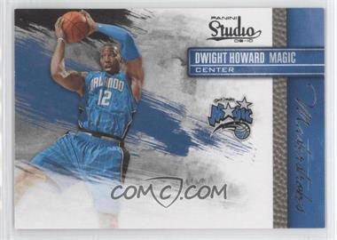 2009-10 Panini Studio Masterstrokes #6 - Dwight Howard