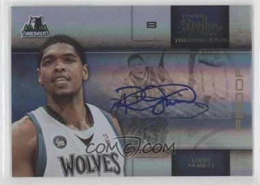 2009-10 Panini Studio Proofs Gold Signatures [Autographed] #42 - Ryan Gomes /10