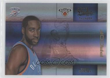 2009-10 Panini Studio Proofs Gold #135 - James Harden /49