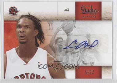 2009-10 Panini Studio Signatures [Autographed] #93 - Chris Bosh /25
