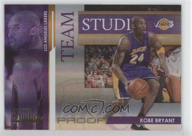 2009-10 Panini Studio Team Studio Proofs #1 - Pau Gasol, Kobe Bryant /199